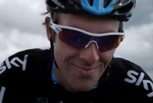 Close up on Team Sky Rider sports film